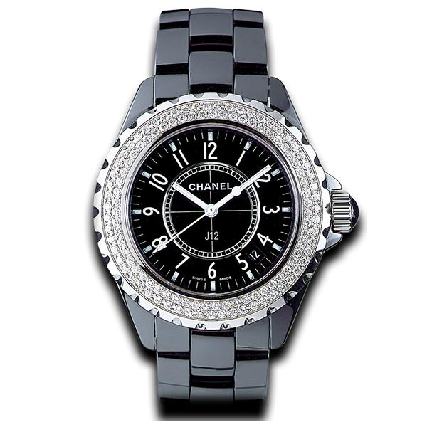 Chanel J12 Diamond Bezel