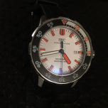 Iwc Aquatimer 2000 Meter White Dial Orange Markers Limited Production