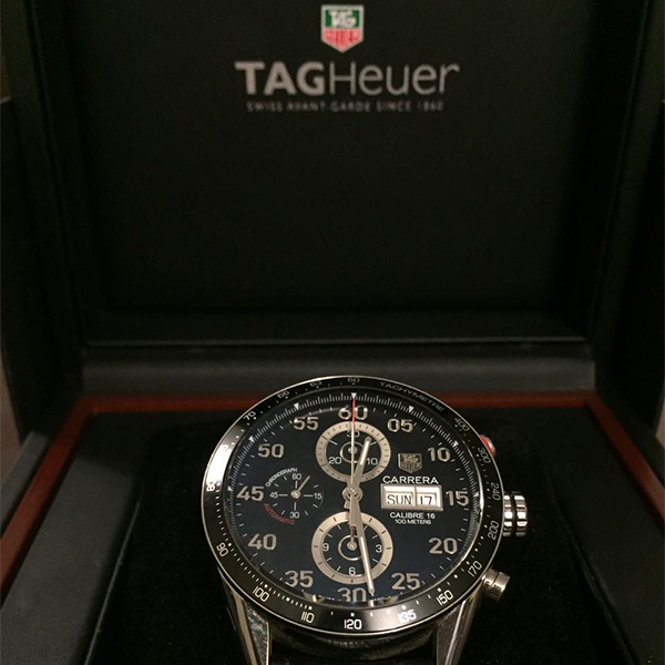 TAG Heuer CARRERA AUTOMATIC CALIBRE 16 CHRONOGRAPH