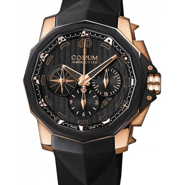 Corum Admirals Cup Challenger Chronograph 48mm Rose Gold