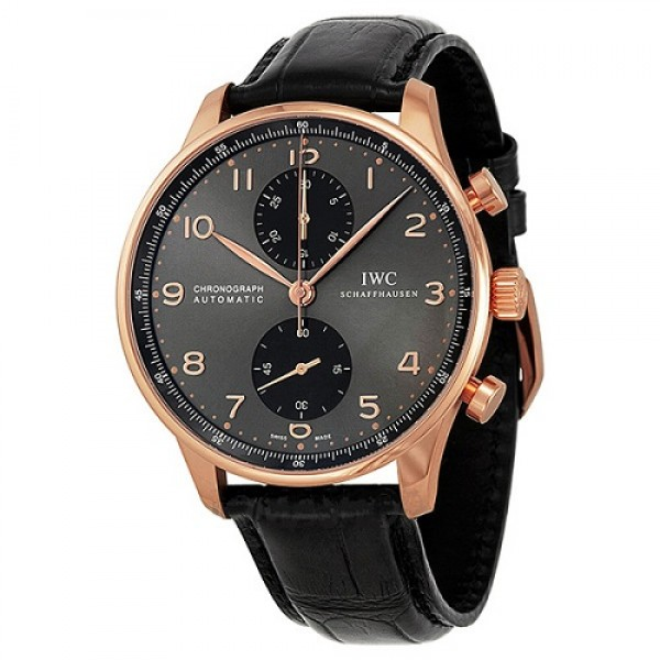 IWC PORTUGUESE CHRONOGRAPH AUTOMATIC ROSE GOLD