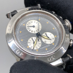 Cartier Pasha Chronograph Blue