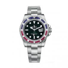 Rolex GMT Master II Custom Upgrade Diamond