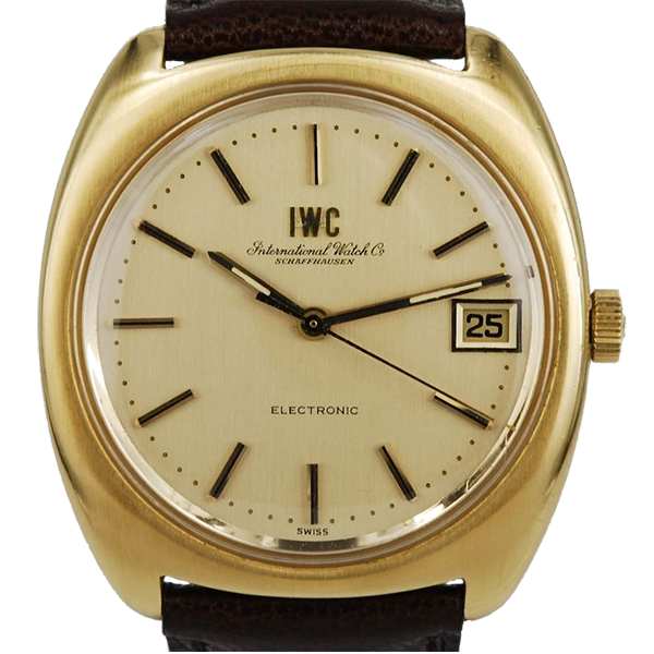 IWC ELECTRONIC 18K GOLD