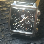 TAG Heuer Monaco Chronograph Black Dial