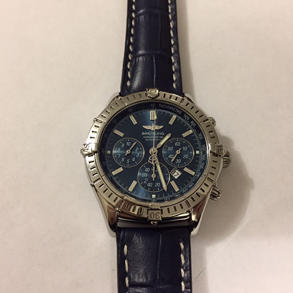 Breitling Windrider Shadow Flyback