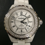 Chanel J12 Blanche Diamants