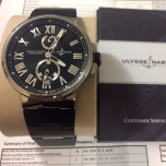 Ulysse Nardin Marine Chronometer Steel Mens