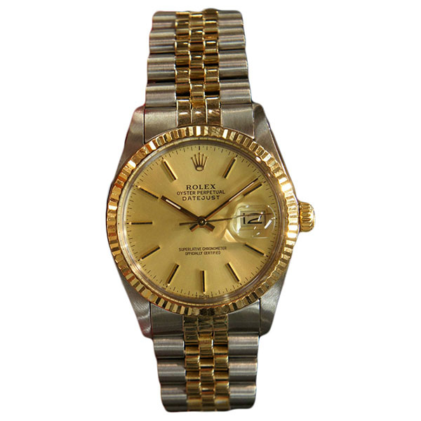Rolex DATEJUST STEEL/GOLD 36mm